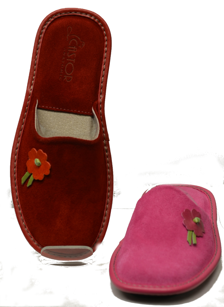 Women Leather Slippers-1743