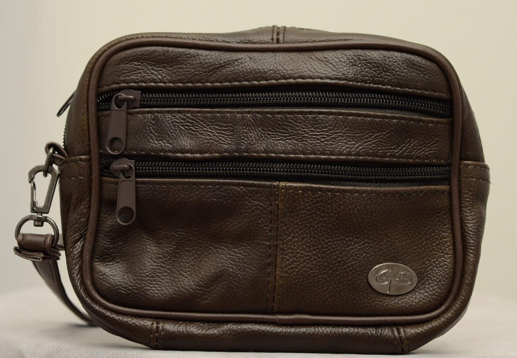 Men Leather Hand Bag-113