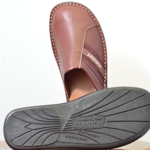 Men Leather Slippers-56