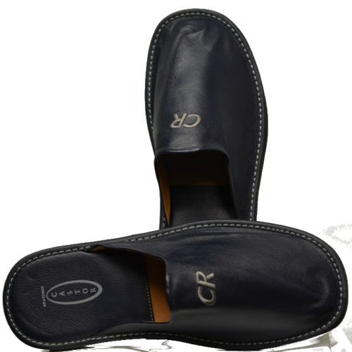 Men Leather Slippers-949