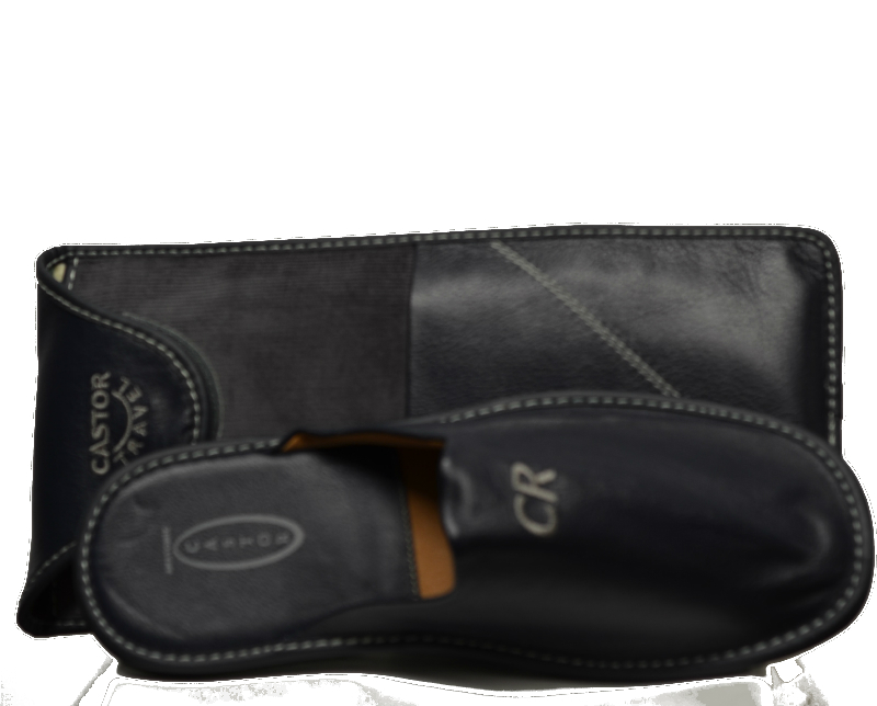Men Leather Slippers-948