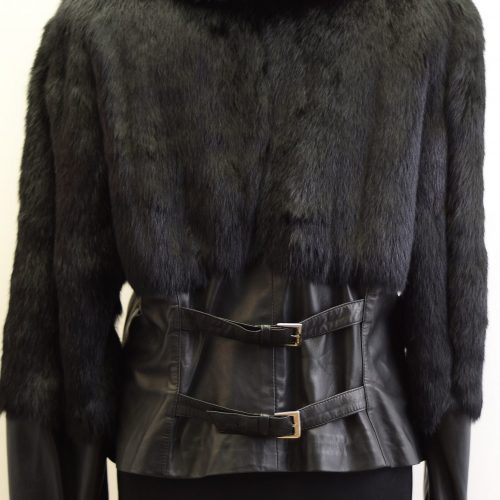 Women Furs With Leather-276