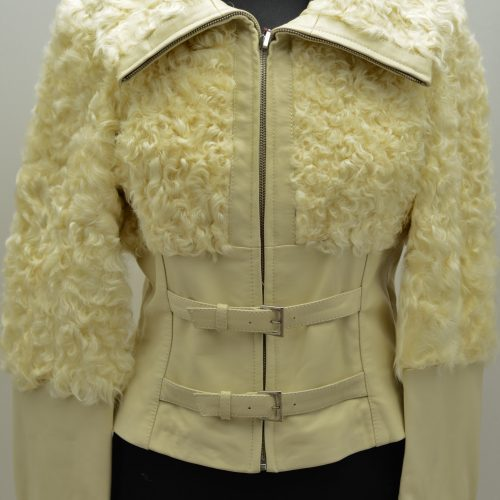 Women Furs With Leather-280