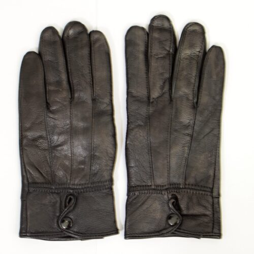 Women Leather Gloves-217