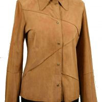 Women Jacket Suede-419