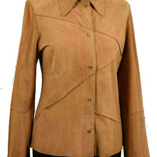 Women Jacket Suede-419