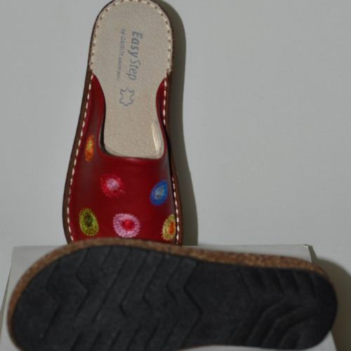 Women Leather Slippers -1756