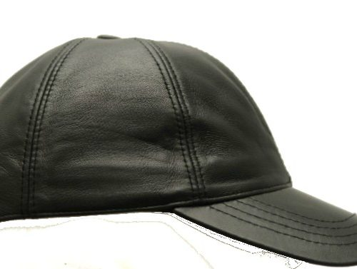 Men Leather Hat-0