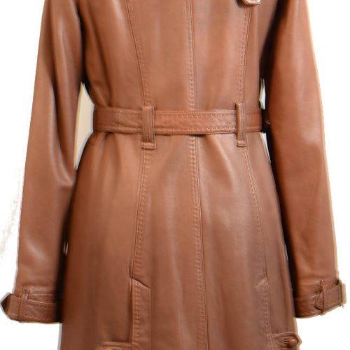 Women Leather Coat-0