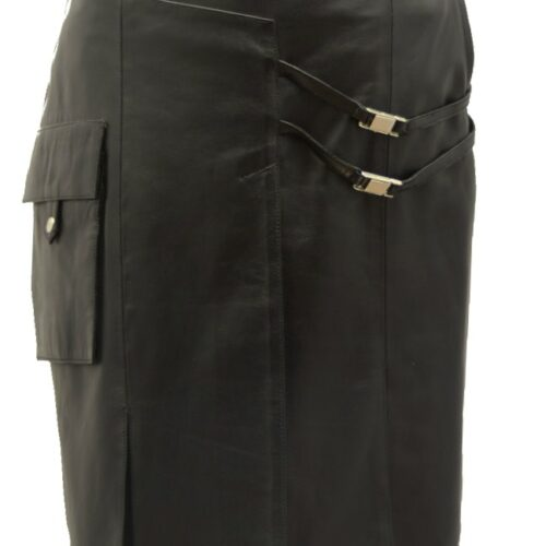 Women Leather Skirts-593