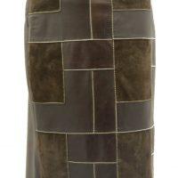 Women Leather Skirts-594