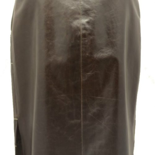 Women Leather Skirts-0