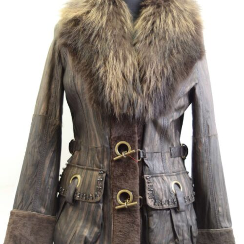 Women Furs Jacket-535