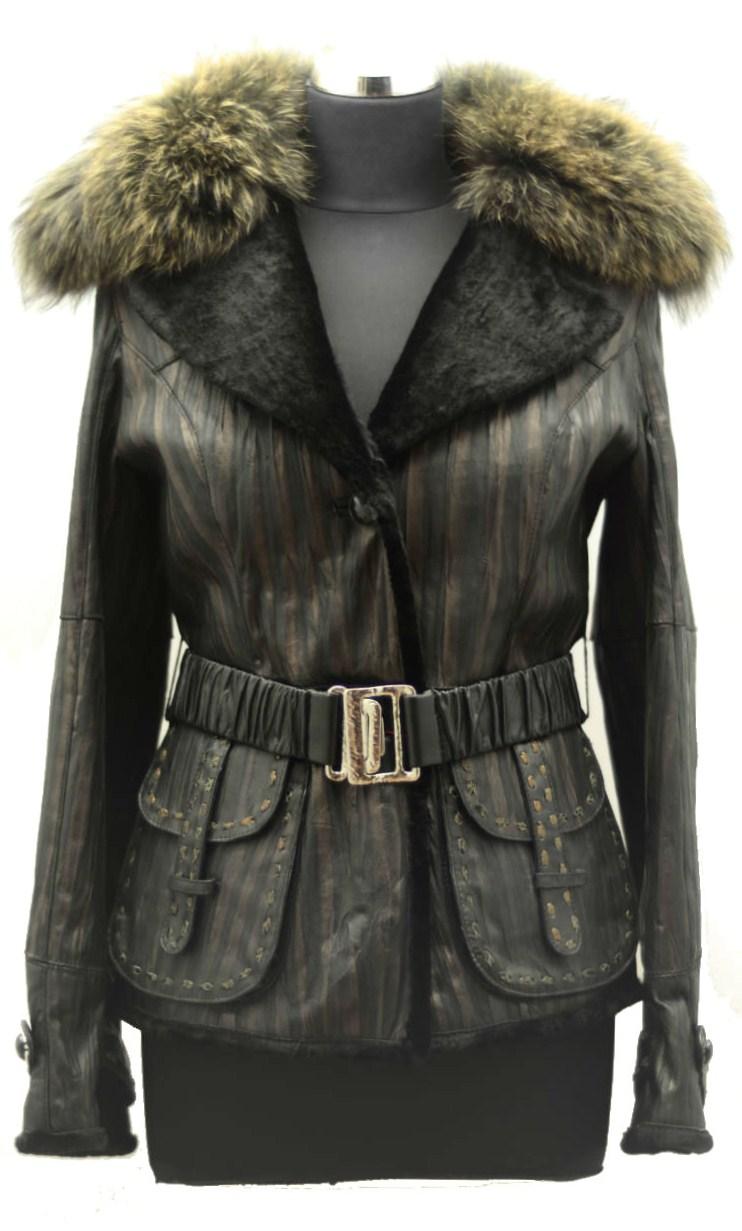 Women Furs Jacket-536