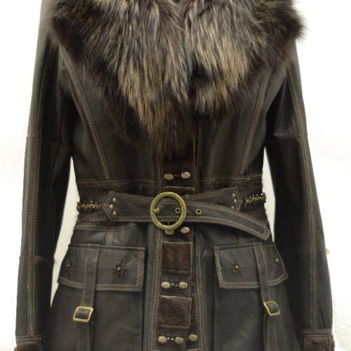 Women Furs Jacket-543
