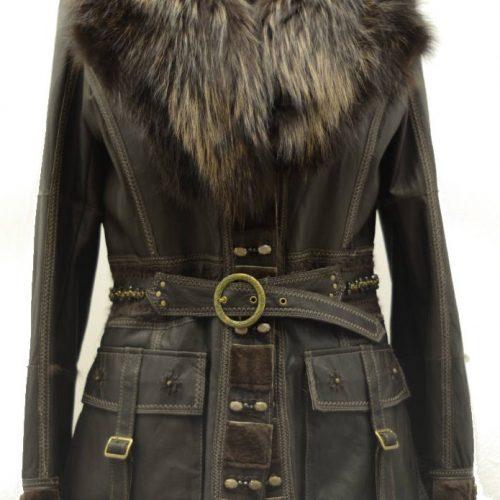 Women Furs Jacket-543