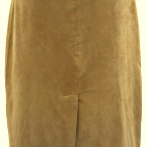 Women Leather Skirt-389