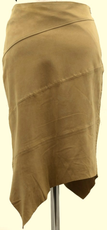 Women Leather Skirt-392