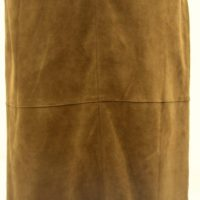 Women Leather Skirt-394