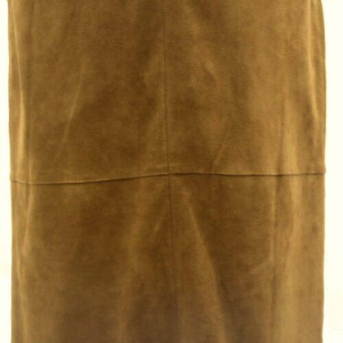 Women Leather Skirt-394