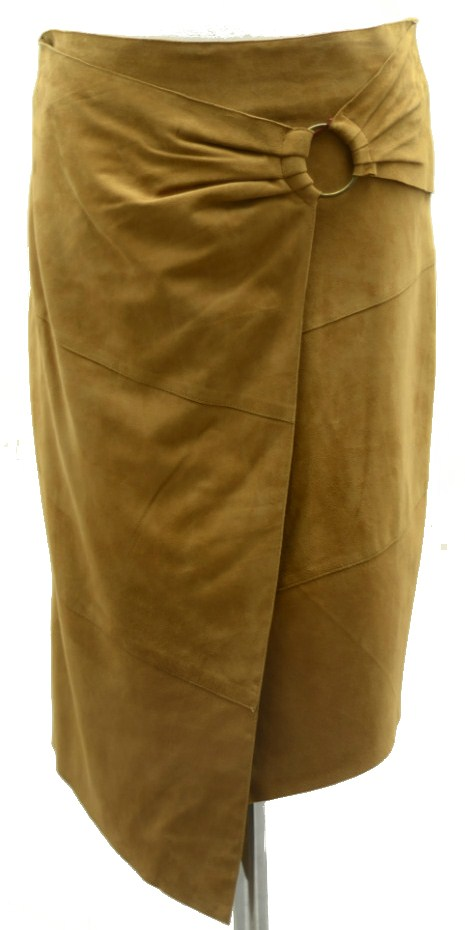 Women Leather Skirt-397
