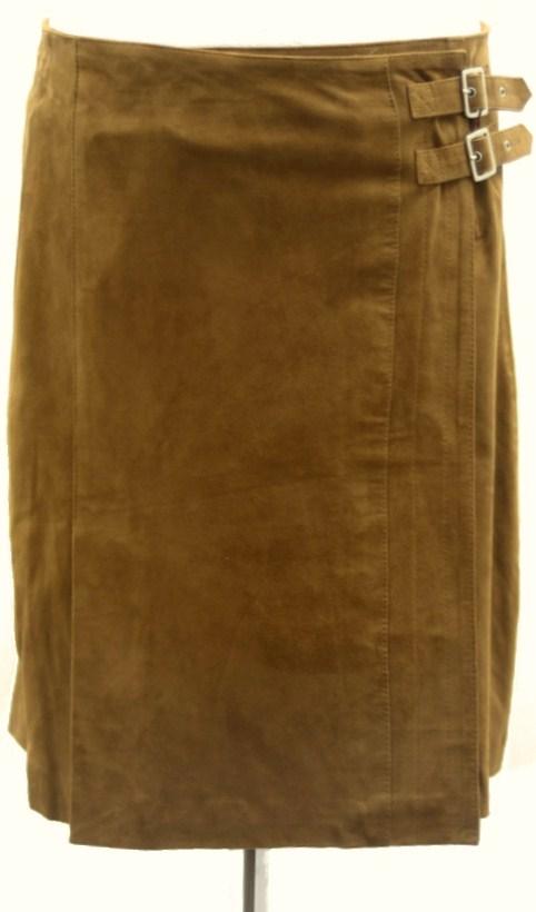 Women Leather Skirt-400