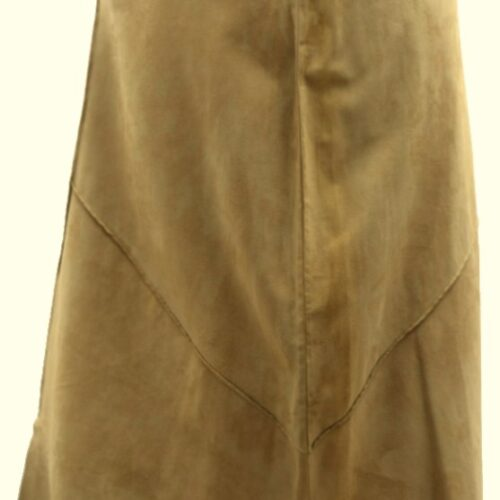 Women Leather Skirt-402