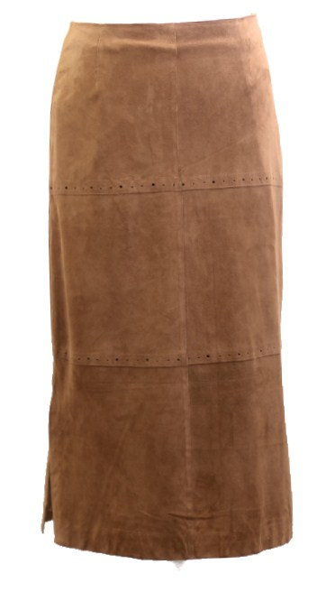 Women Leather Skirt-427