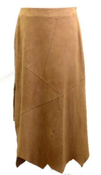 Women Leather Skirt-428