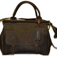 Leather Travel Suitcase-1496