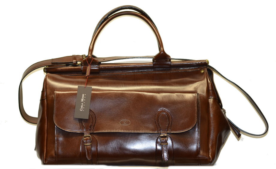 Leather Travel Suitcase-1499