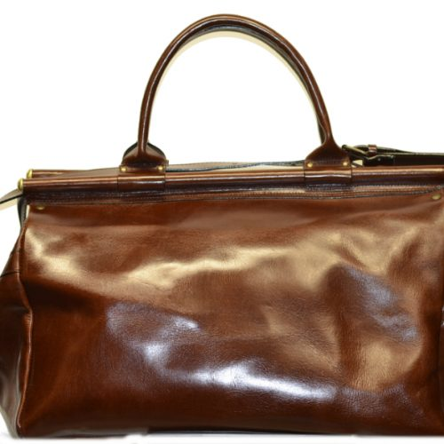 Leather Travel Suitcase-1501