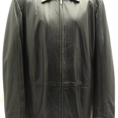 Men Leather Jacket-381