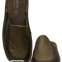 Men Leather Slippers-1763