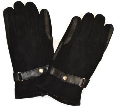 Men Leather Gloves-732