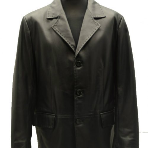 Men Leather Jacket-387