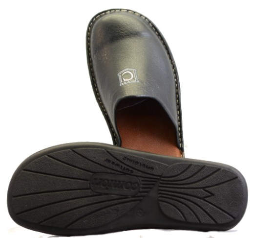 Men Leather Slippers-724