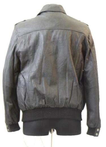 Men Leather Jacket-755