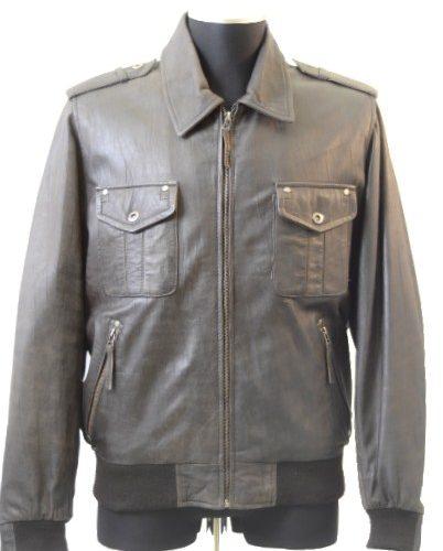Men Leather Jacket-0