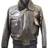Men Leather Jacket-776