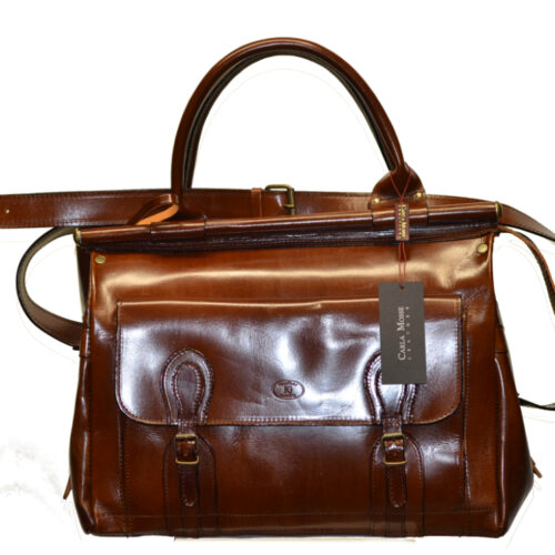Leather Travel Suitcase-1502