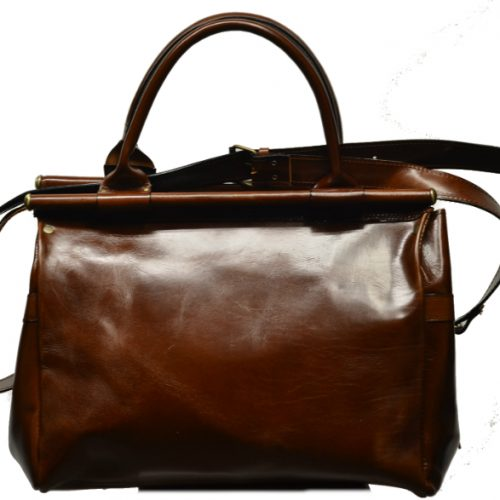 Leather Travel Suitcase-1504