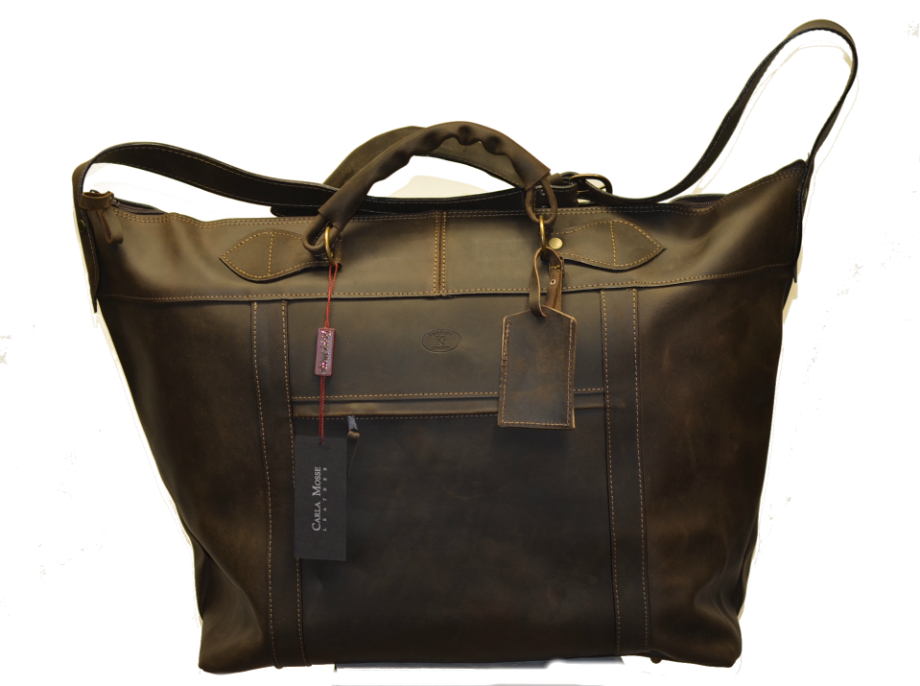 Leather Travel Suitcase-1505