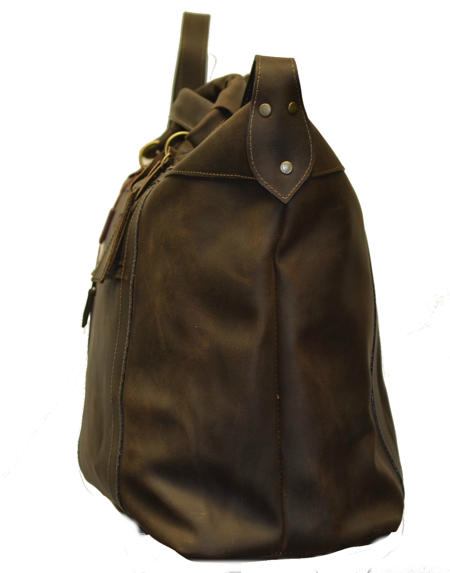 Leather Travel Suitcase-1507