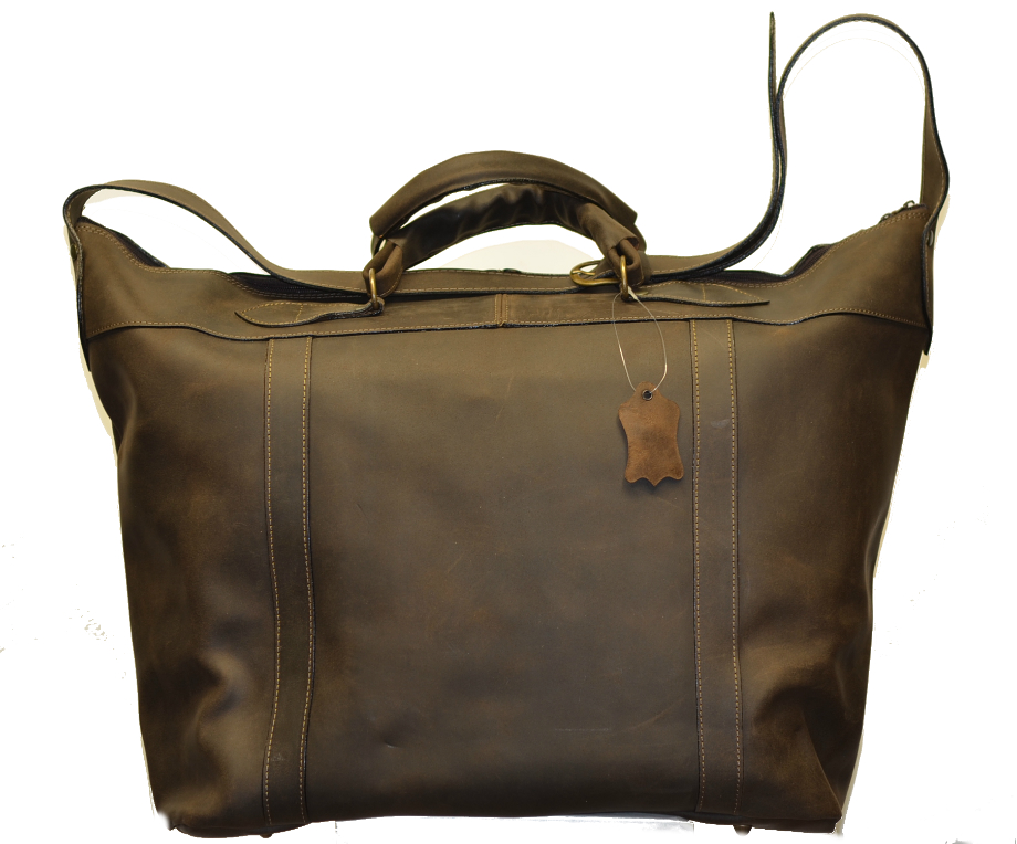 Leather Travel Suitcase-1510