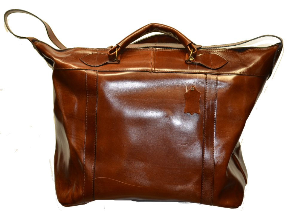 Leather Travel Suitcase-1509