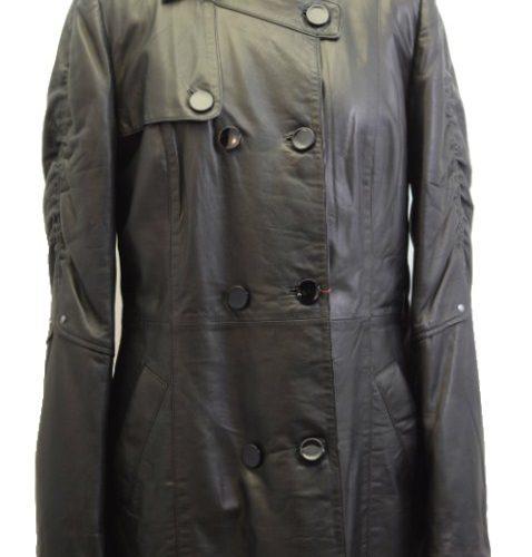 Women Leather Coat-816