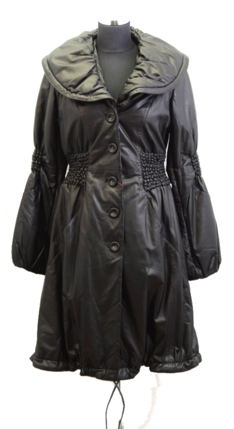 Women Leather Coat-821