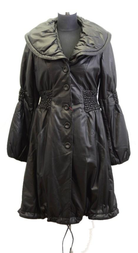 Women Leather Coat-821