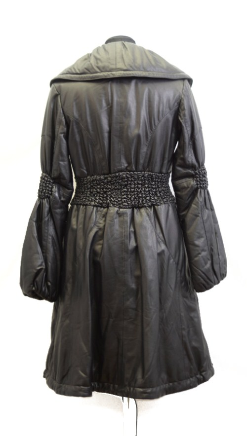 Women Leather Coat-0
